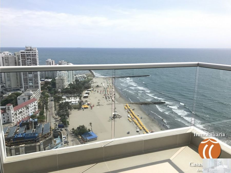 apartamento frente al mar p beach 2605