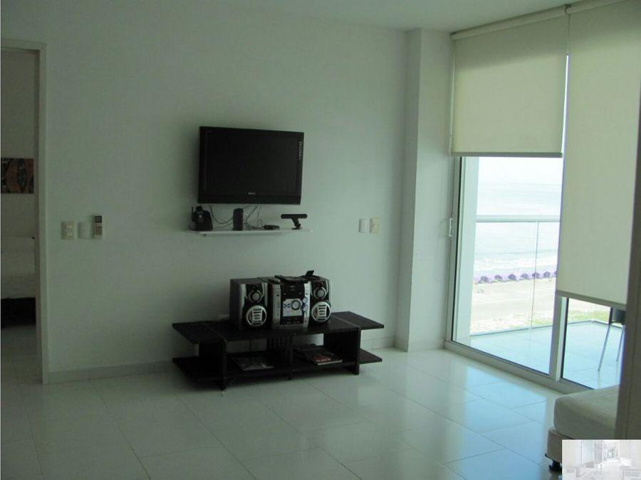 apartamento con vista lateral al mar en morros 3