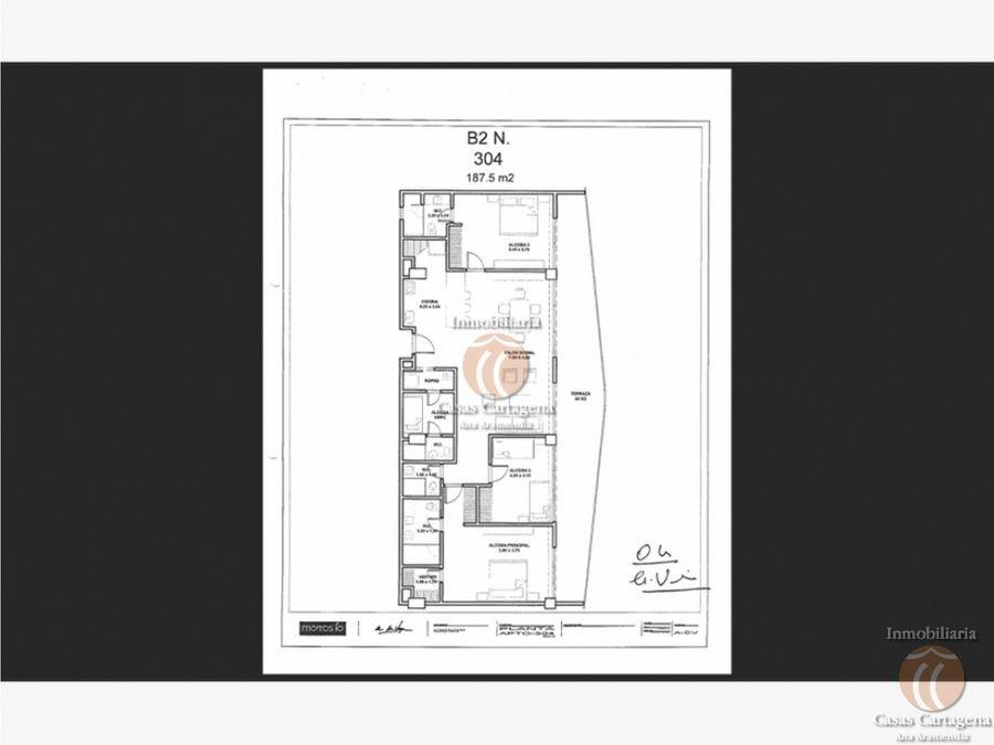 304 apartamento en proyecto morros io cartagena