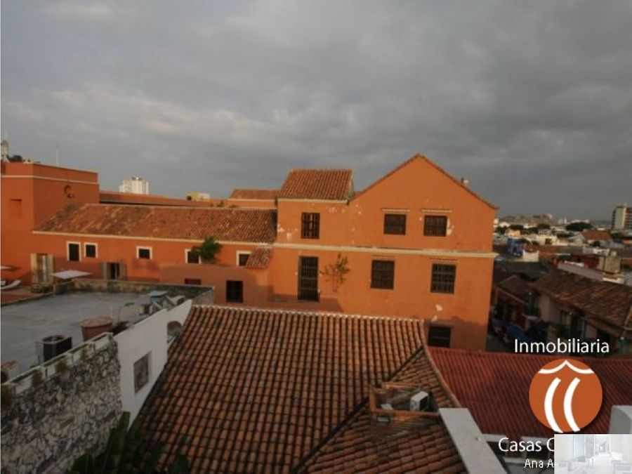 casa amoblada en calle del curato cartagena