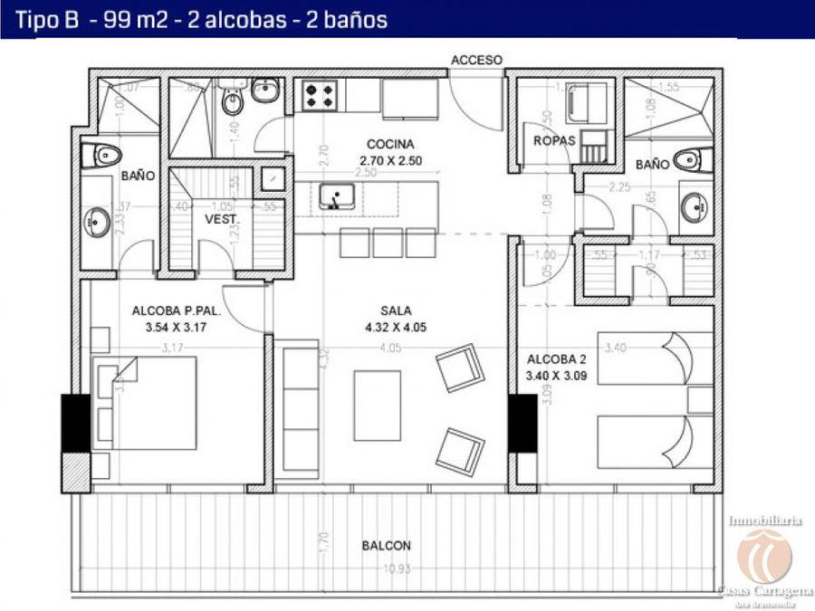 2903 venta proyecto 3 alcobas icon 8 castillo cartagena
