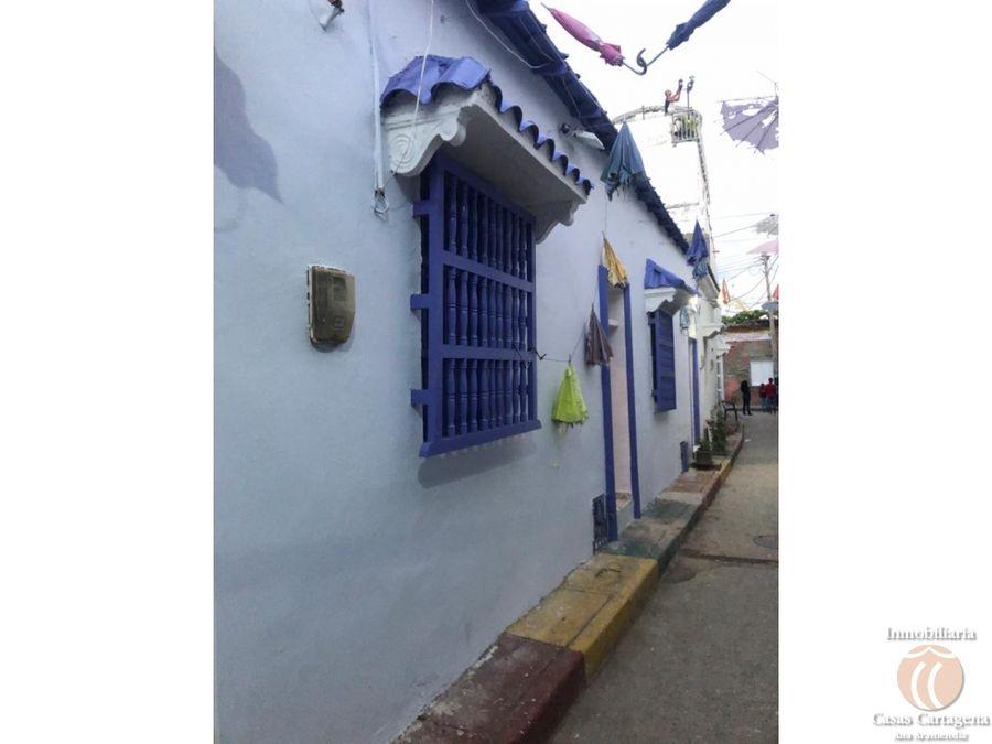 venta de casa de 1 alcoba en getsemani cartagena