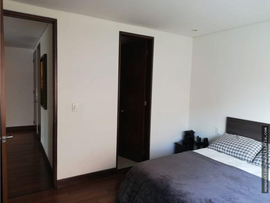apartamento en arriendo amoblado en chico navarra