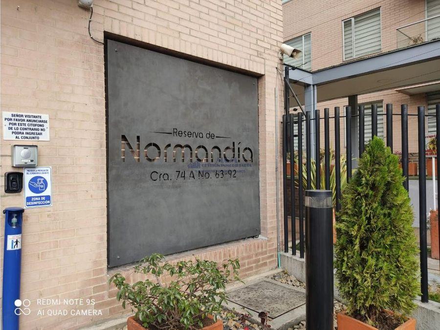 apartamento en venta en normandia santa cecilia