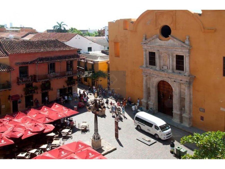 apartamento en venta centro historico plaza de santodomingo