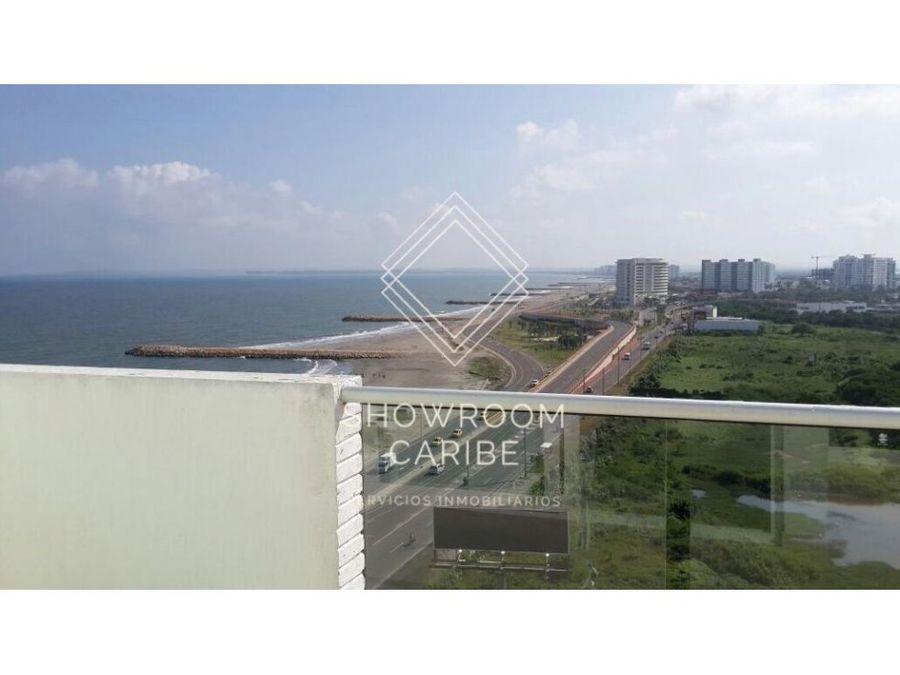 apartamento en venta frente al mar terrazas de san sebastian