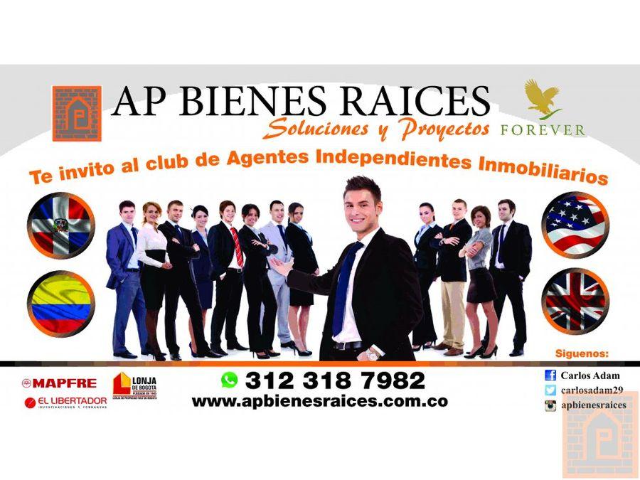 empleos agentes inmobiliarios colombia