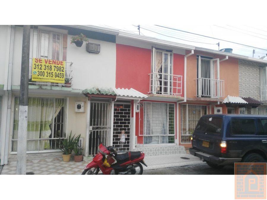casa bien ubicada santa catalina villavicencio