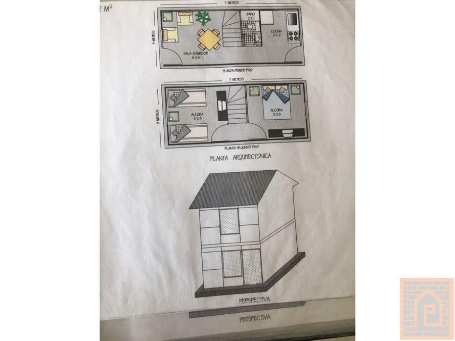 se vende casa campestre pre fabricada moderna
