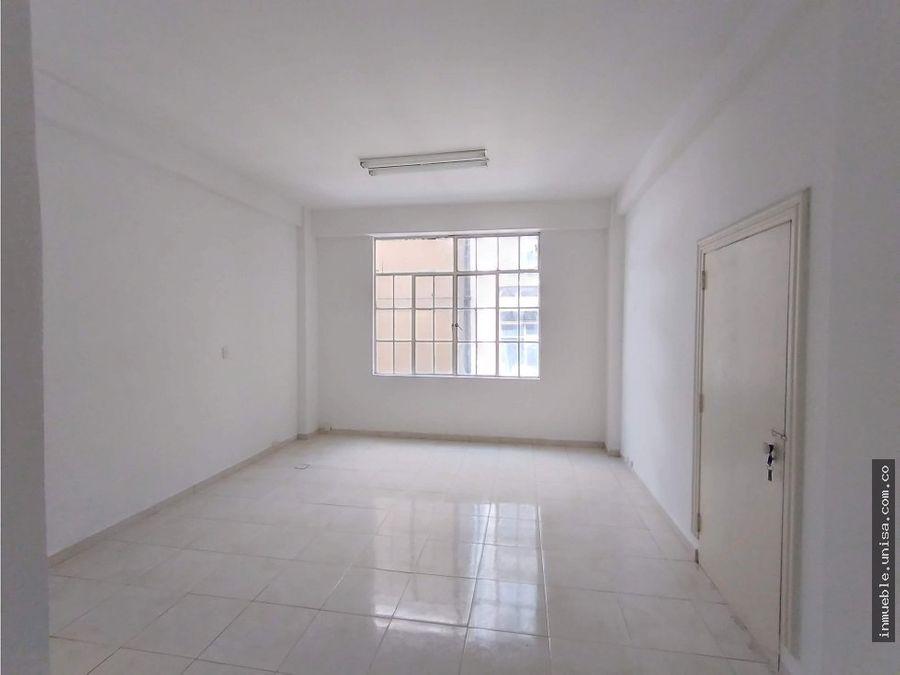 oficina en alquiler ed bogota plaza caicedo