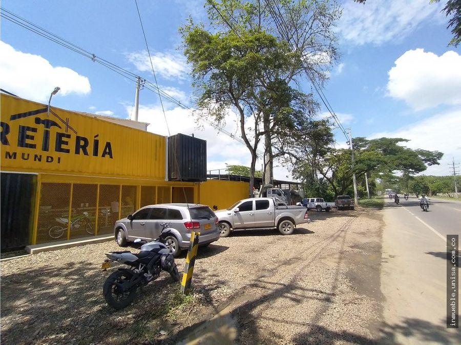 alquiler de bodega via panamericana jamundi
