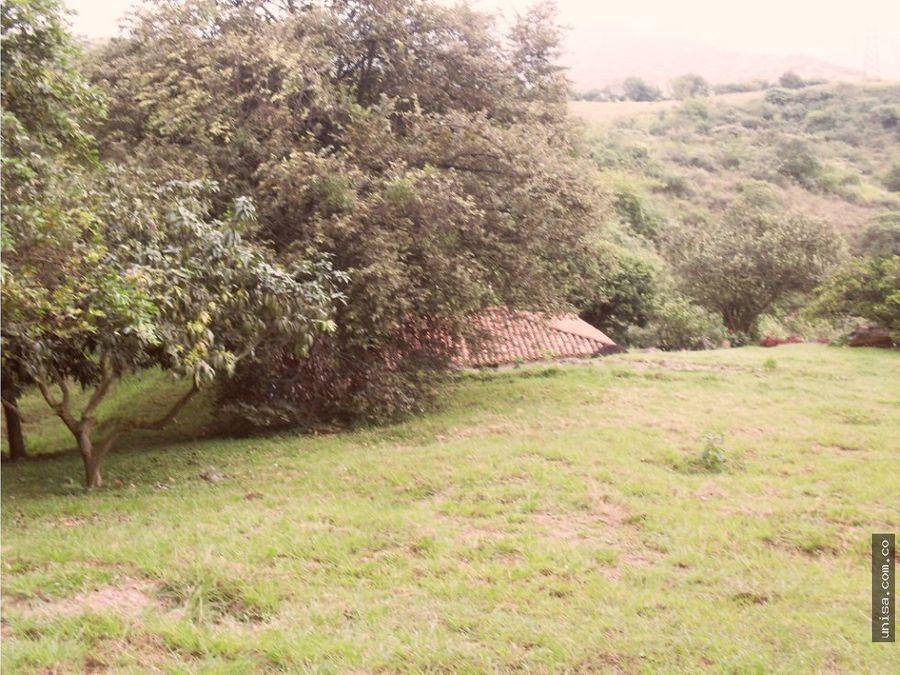 lote en venta colinas de arroyohondo km 4 via dapa 4350