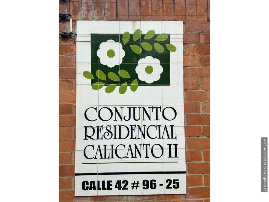 alquiler de apto en conjunto residencial calicanto ii