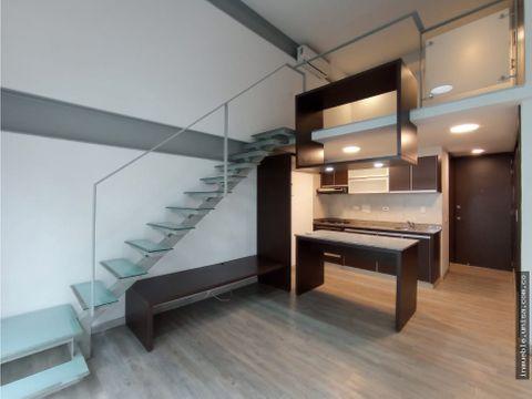 alquiler apartaestudio apto 11 edificio loft barrio la flora