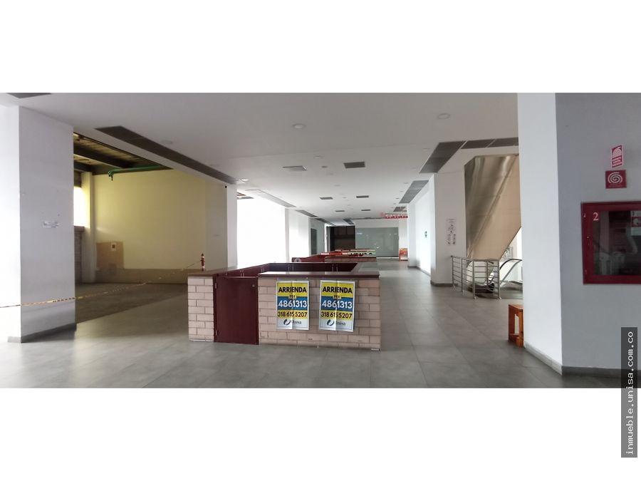 alquiler local 2do piso centro comercial centro sur