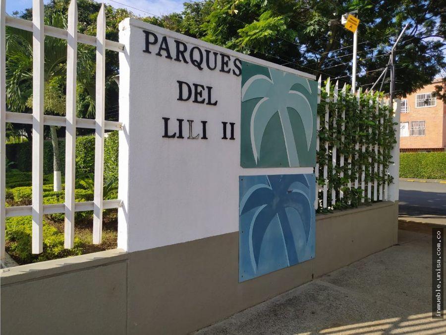 alquiler de hermoso apto conjunto parques del lili 2