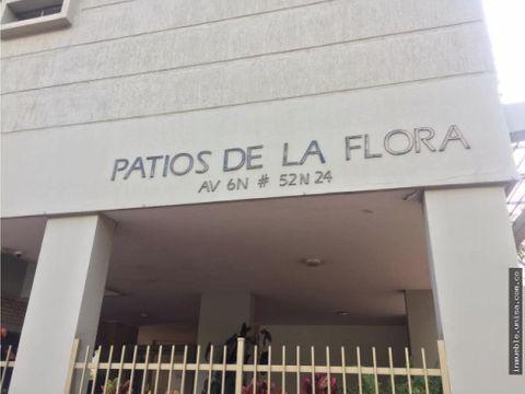 apartamento en venta conj patios de la flora bla flora 9063