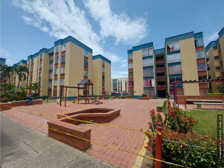alquiler apartamento 4to piso conjunto paraiso de comfandi