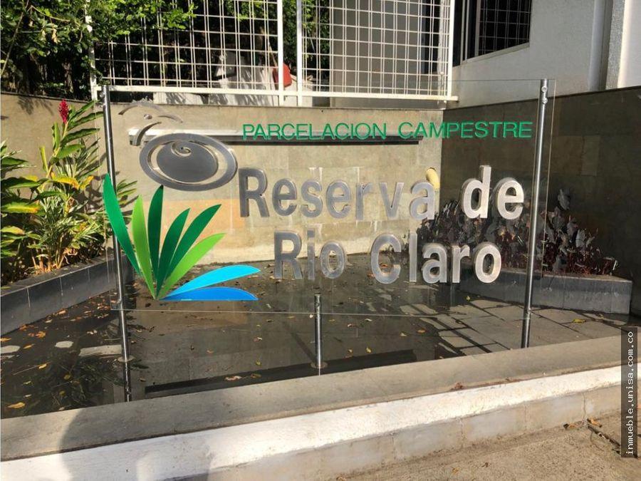 lote en venta reservas de rio claro jamundi potrerito 9811