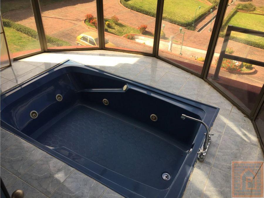 se vende casa spa en la calera bogota cundinamarca