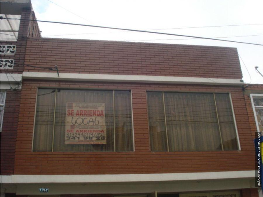 se vende casa en barrio san andres bogota