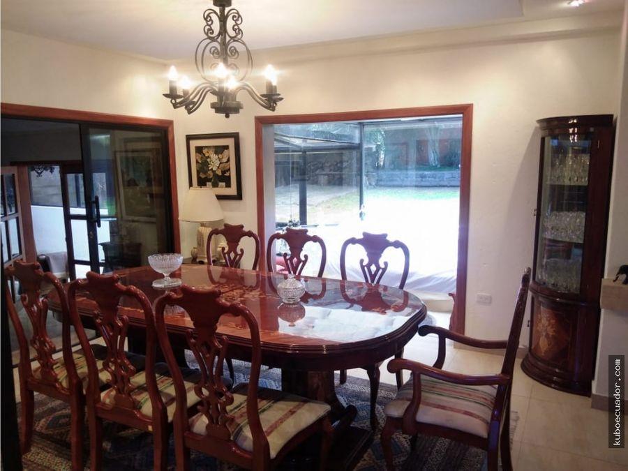 venta de casa en la armenia guangopolo urbanizacion la rivera