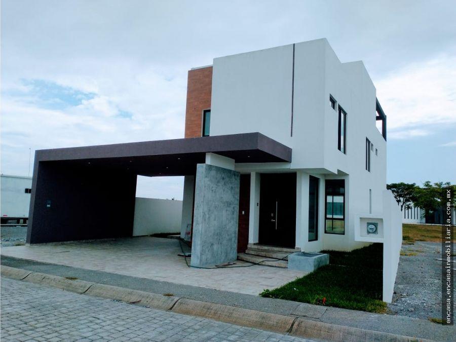 casa nueva en veracruz fraccionamiento los cedros residencial