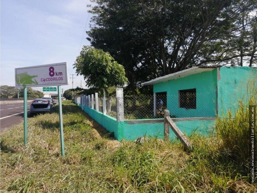 terreno en venta en autopista veracruz cardel poblado san pancho