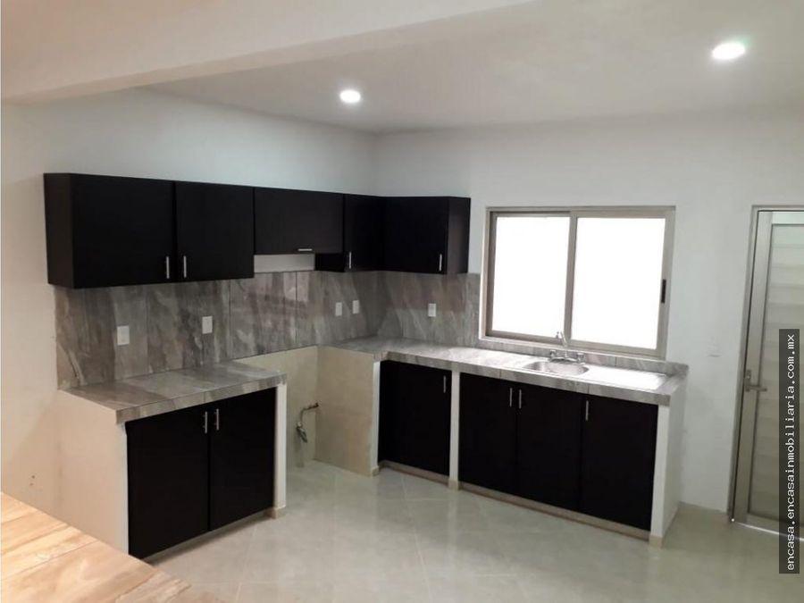 casa nueva en venta en veracruz colonia las antillas