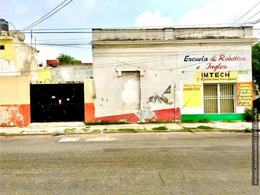 locales en venta en veracruz con una casa en la colonia centro
