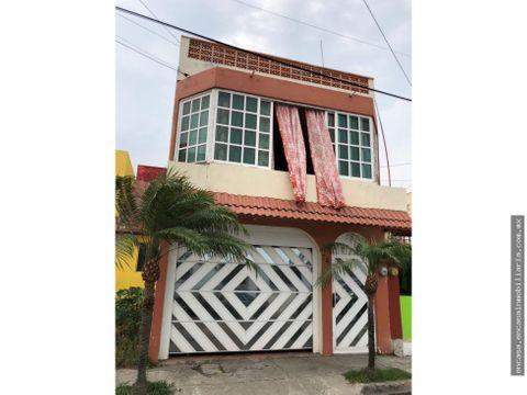 casa en venta en veracruz en el fraccionamiento rio medio 1
