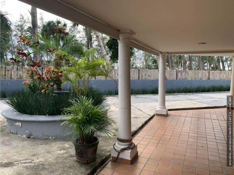 casa residencial en venta en veracruz en el club de golf villa rica