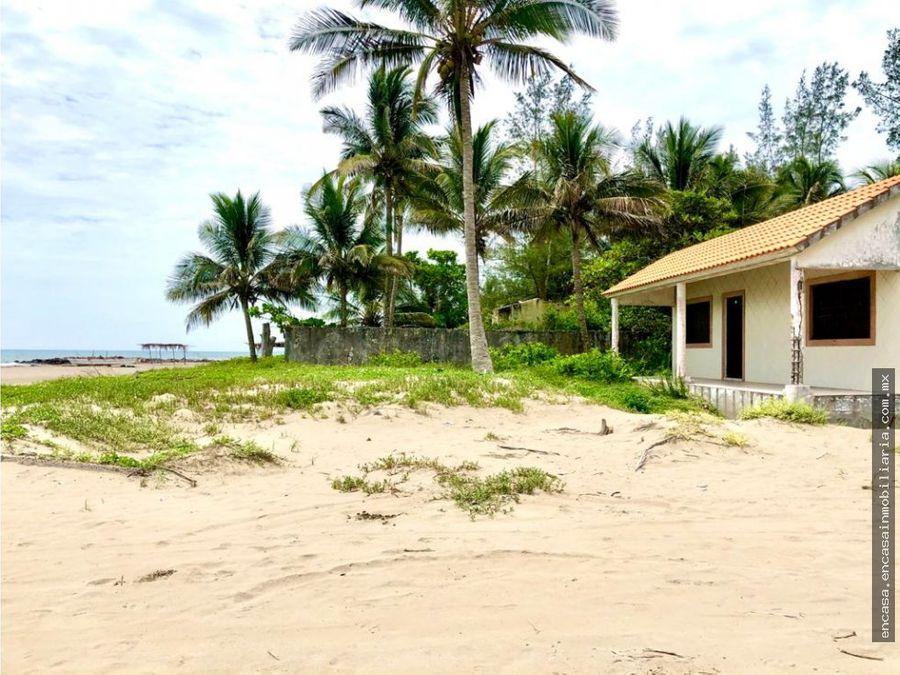 venta casa de playa en veracruz ubicada en la localidad de mata de uva