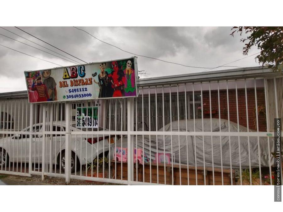casa en venta modelia bogota