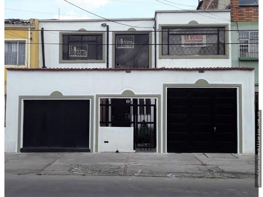 casa en venta bogota barrios unidos