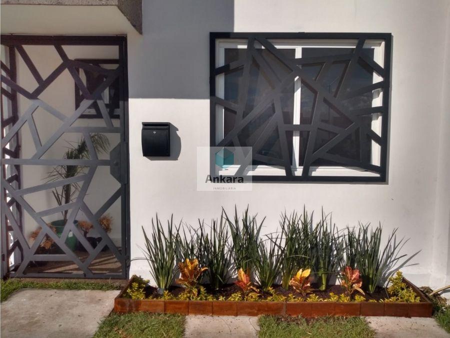 hermosa casa en renta en hacienda vinedos
