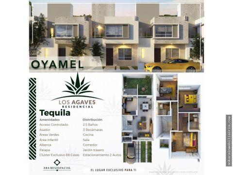 los agaves residencial modelo oyamel