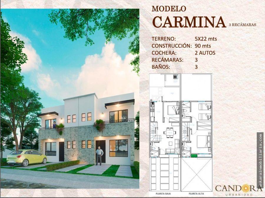 casa en venta en candora urbanidad carmina 3r