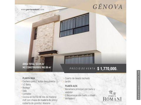 hermosa casa en venta en porta romani genova