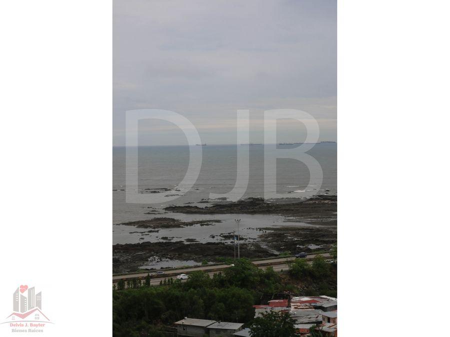 alquilo apartamento amoblado en san francisco vista al mar 94a
