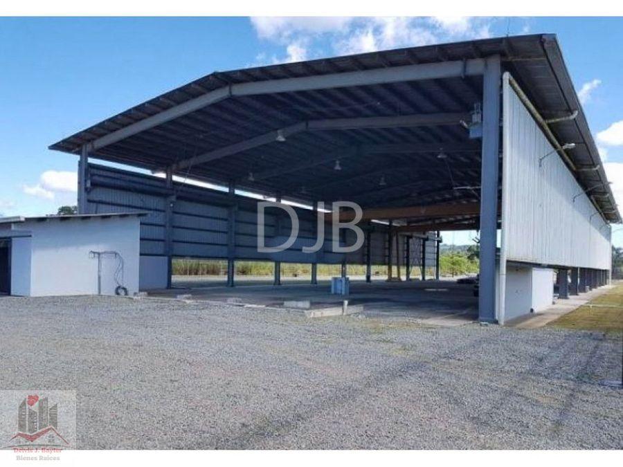 alquiler de galera industrial con oficina en la cabima 284