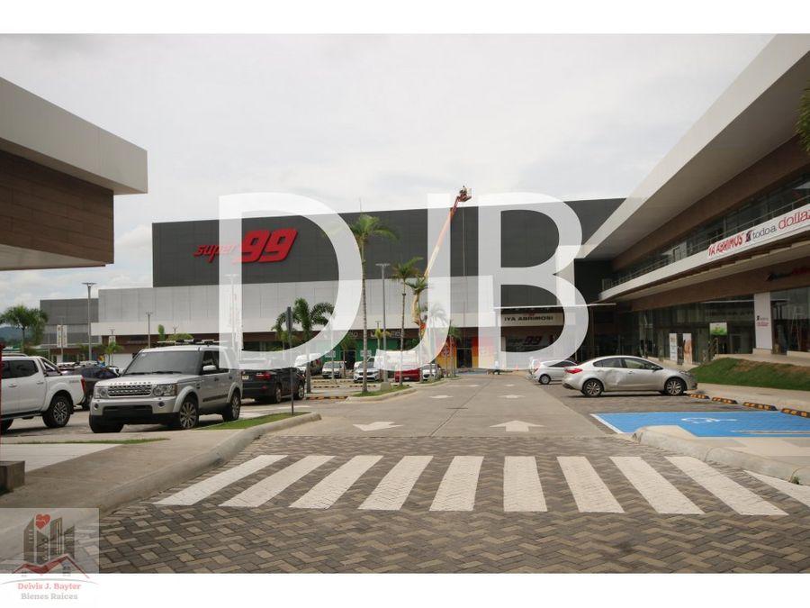 alquilo locales en plaza comercial ondgo en la chorrera 49