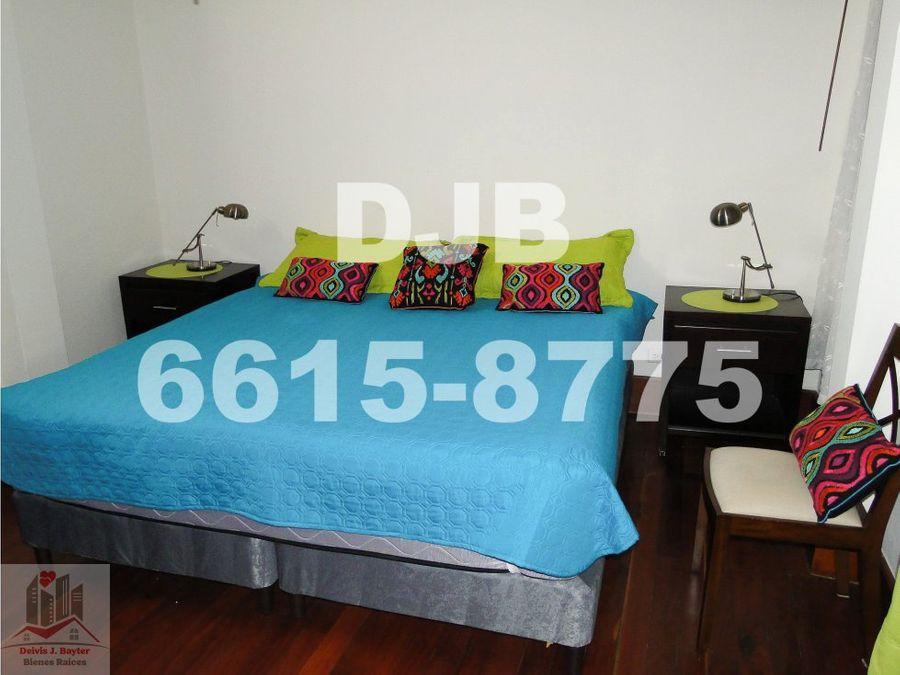 alquilo apartamento amoblado en casco viejo de 2 recamaras 1200 44