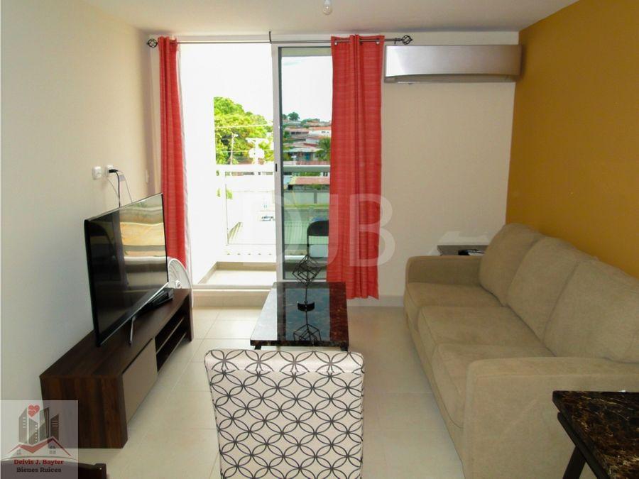alquilo hermoso apartamento 2 rec 2 banos semi amoblado 750 147