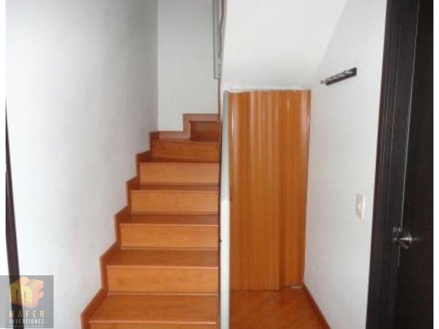 arriendo apartamento duplex mf206