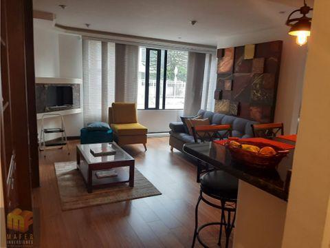 venta apartaestudio remodelado con o sin muebles chico navarra mf007