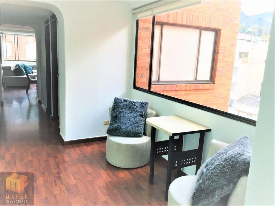 vendo apartamento chapinero oportunidad mf0017