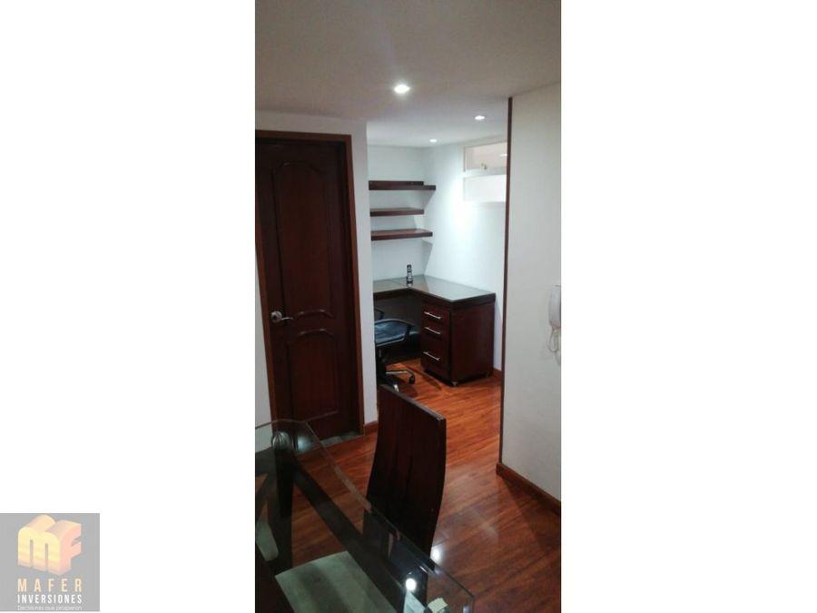 arriendo apartamento amoblado en santa barbara oriental mf015
