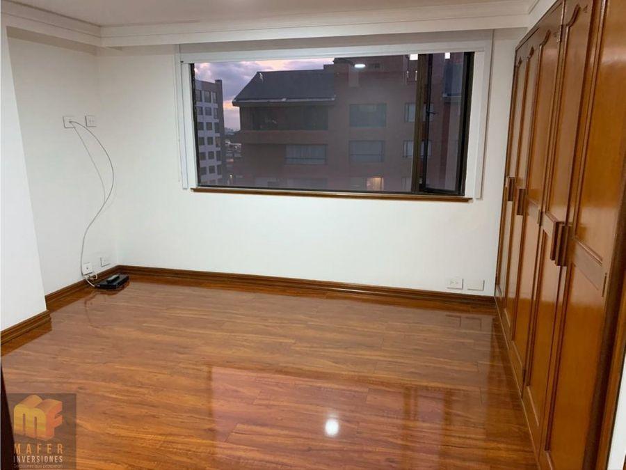 arriendo apartamento santa barbara mf222