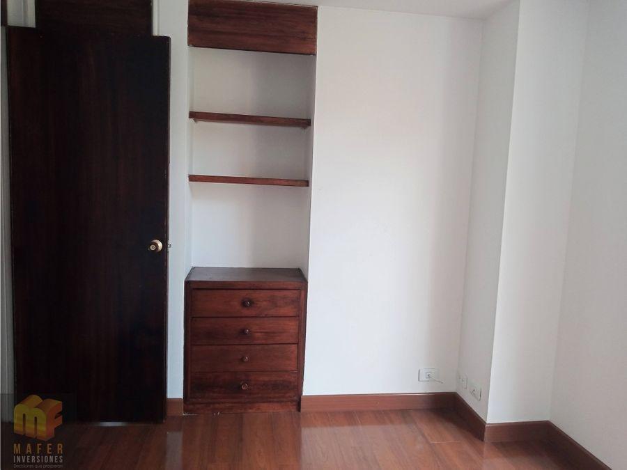 arriendo apartamento rosales mf34